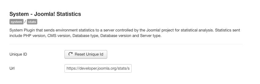 Joomla 3.5 Features - Anonymised Data Plugin